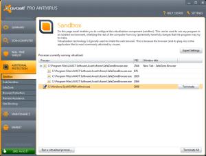 Avast! Pro Antivirus 2013