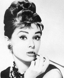 Audrey beautiful eyes