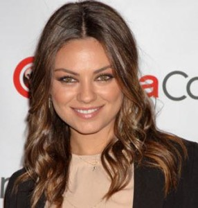 Mila Kunis beautiful eyes